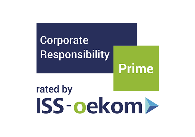 ロゴ画像「Corporate Responsibility Prime rated by ISS-oekom」