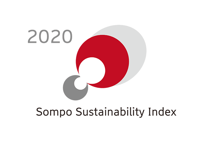 ロゴ画像「2020 Sompo Sustainability Index」