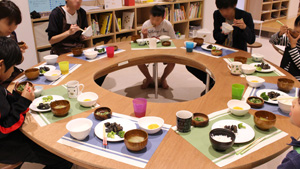 "Dinner at the NIPPON FOUNDATION ""third-place facilities"""