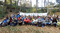 Employees participate in MOTTAINAI×TAMAZO Forest making project