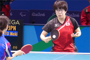Hinari employee active in table tennis and alpine skiing